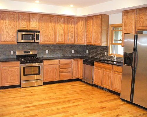 Complete Kitchen Remodeling Job Done In Paterson NJ 07504 New Cabinet Installation Hardwood Floor Appliance